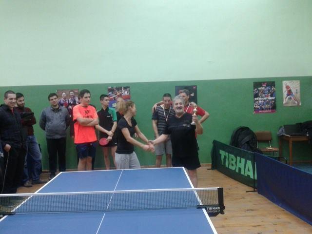 Тенис на маса за ученици, студенти, доценти и легенди