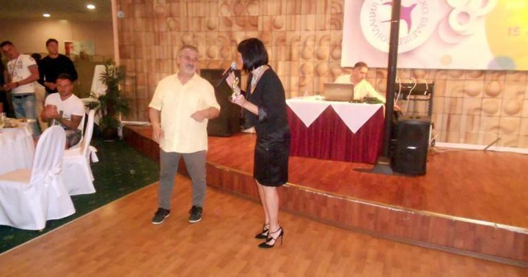 П. Тодоров с поредно отлично представяне; връчва награда от името на Фуутура