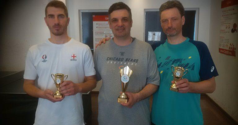 Първият месечен шампион в тениса на маса е Христо Влахов