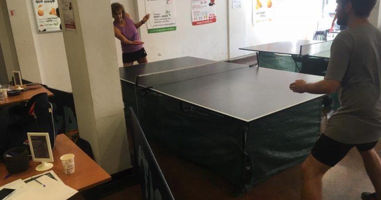 Тенис на маса подреждане след 1 кръг – Петър Тодоров, Марио Георгиев, Даниела Василева