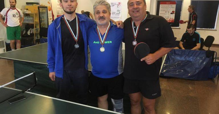Тенис на маса подреждане 3 кръг – познат шампион и нови участници