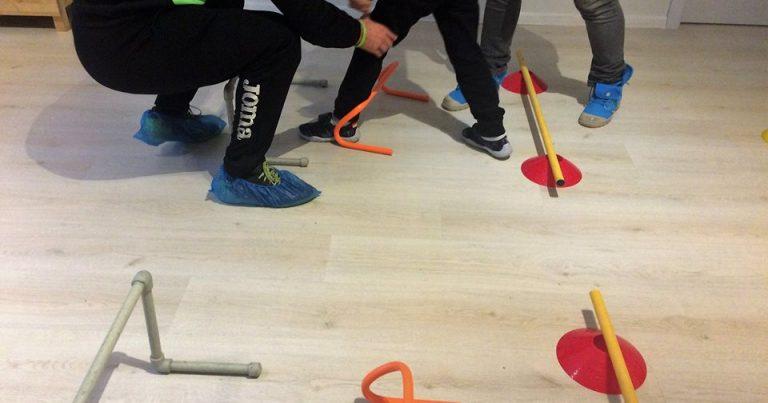 Фуутура със спортна програма в детски терапевтичен център
