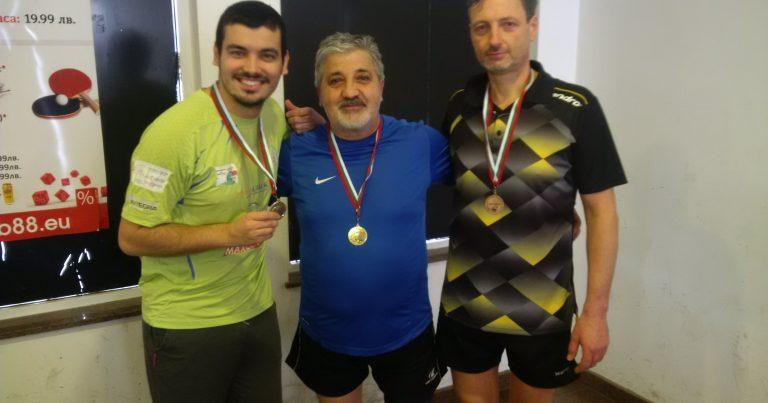 Старият-нов шампион се завърна в битката – Петър Тодоров, втори-Пенчо Иванов, а трети – Владиан Христов