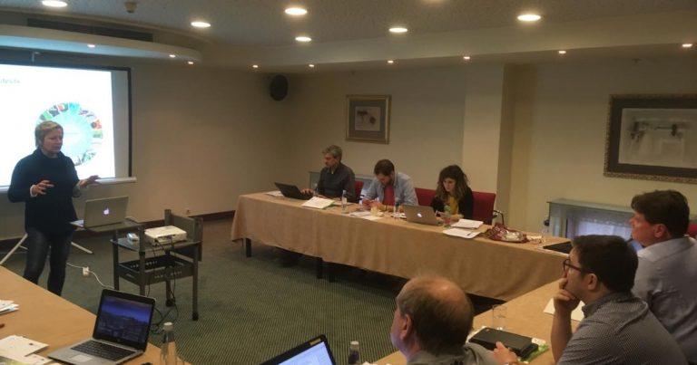 Фуутура домакинства на международна партньорска среща