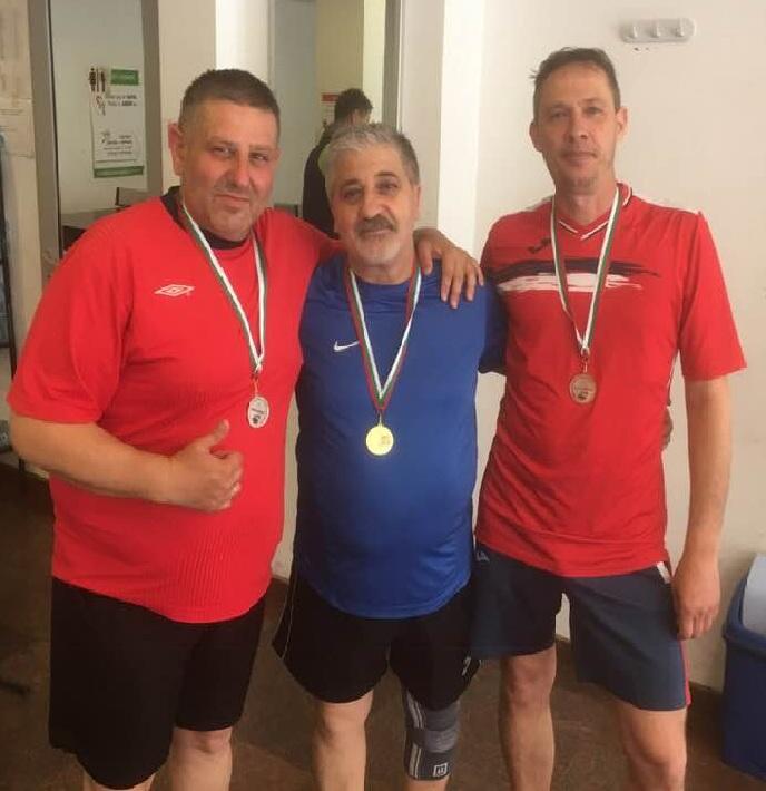 Аматьорската лига по Тенис на маса – Обзор на 8 кръг