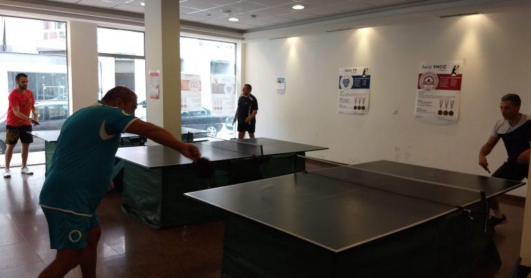 Резултати от 3-ти кръг от Аматьорска лига по тенис на маса