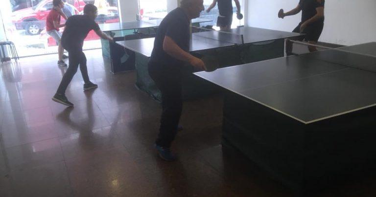 5-ти кръг от Аматьорска лига по тенис на маса – резултати, класирания и снимки