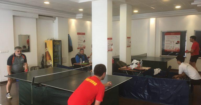 6-ти кръг от Аматьорска лига по тенис на маса – резултати, класирания и снимки