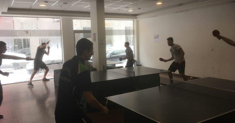 Студентска лига по тенис на маса – 3 кръг
