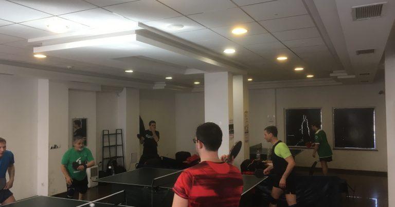 Аматьорска лига по тенис на маса – 2 кръг