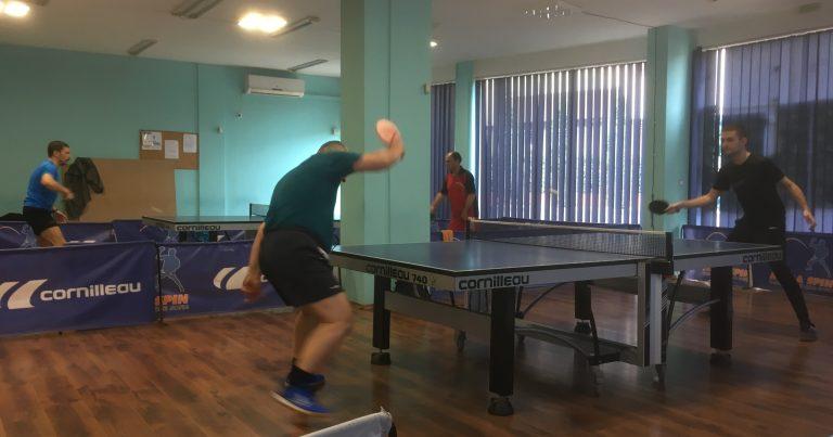 Тенис на маса Мега Лига – 5 кръг