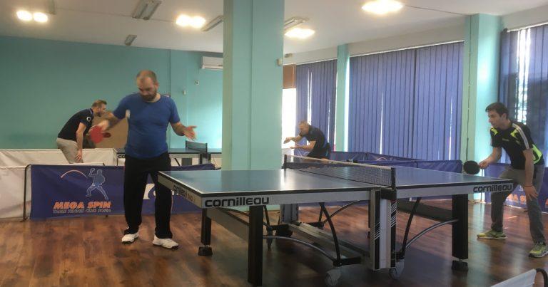 Тенис на маса Мега Лига – 6 кръг