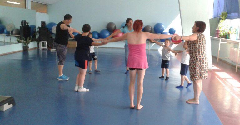Отворени двигателни тренировки за деца със специални потребности и през януари и февруари