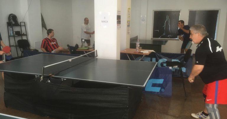 Аматьорска лига по тенис на маса – 1 кръг