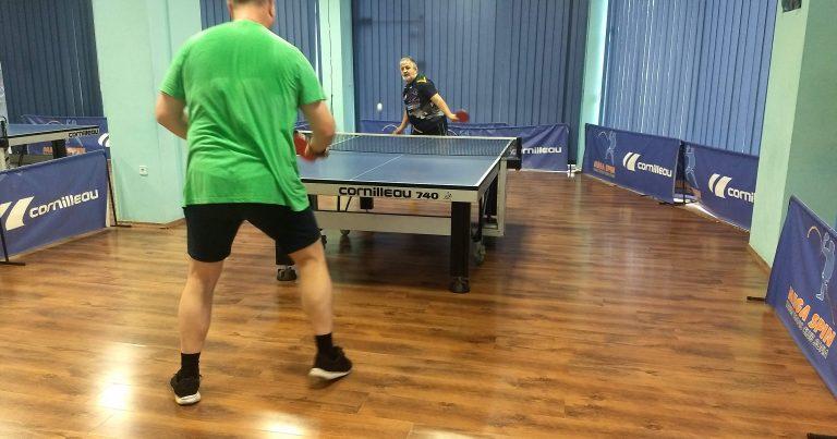 Тенис на маса Мега Лига – 4 кръг