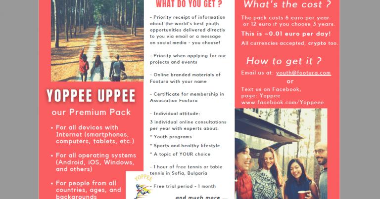 Footura presents YOPPEE Premium package