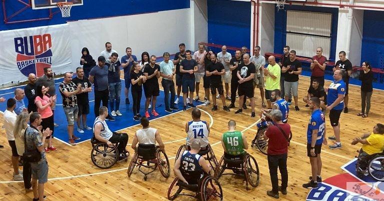 Фуутура на гости на Баскетболен клуб за хора с увреждания Левски